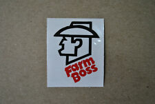Stihl Farm Boss Vinyl Decal / Sticker