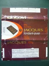Wikkels  Chocolade Jacques  chocolat- omslagen - emballages - wrappers chocolate