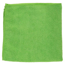 Green Microfibre Cleaning Cloth Towels Car Polishing Detailing Wash Wax