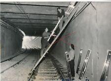 Nr 14901 Presse Foto Wien U Bahn Bau Tunnelausfahrt Secession 1966  Foto Basch