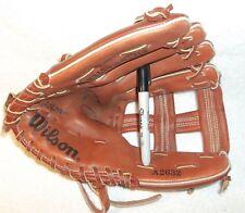 """Wilson A2632 Baseball Softball Glove  10.5"""" FIELDMASTER JOE CARTER LEATHER LHT"""