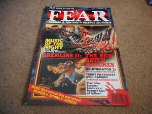 JULY 1990 FEAR magazine GREMLINS II
