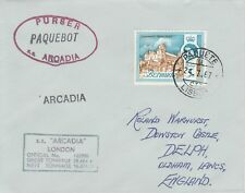 Bermuda 4495 - Used in LISBON, PORTUGAL  1 967  PAQUEBOT cover to UK