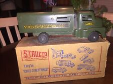 VINTAGE 50's STRUCTO Telephone Co. Truck IN ORIGINAL BOX Structo Telephone Co.