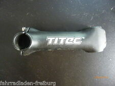 "NEW neuer1x1/8 MTB Stem "" Titec "", Black A -Head 120mm Length, ONLY 188 Gramm"