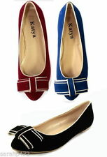 Suede Casual Ballet Flats for Women