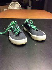 490d470277 Boys Polo Ralph Lauren Navy And Green Dress Shoes Size 12