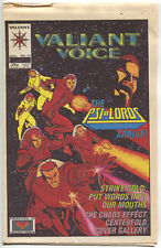 Valiant Voice 15 1994 NM Psi-Lords Bob Layton X-O Manowar Chaos Effect