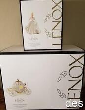 Lenox ~ Disney's Cinderella & Cinderella's Lighted Enchanted Coach ~ Both Nib