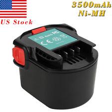 3500mAh 12V Ni-MH Battery For Ridgid 130252002 AEG 4932352532 4932399696 B1214G