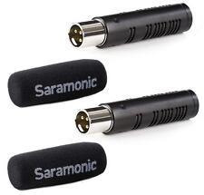 Saramonic SR-AXM3 Broadcast Quality XLR Shotgun Condenser Microphone Capsules