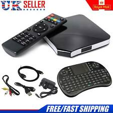 Latest V2017 Android 4.4 Smart TV Box Quad Core 1 Go RAM Free Clavier UK