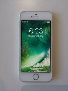 Apple iPhone 5s - 16GB - Silver (Unlocked) A1530 (GSM) (AU Stock)