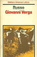 RUSSO Luigi (Delia 1892 - Marina di Pietrasanta 1961), Giovanni Verga