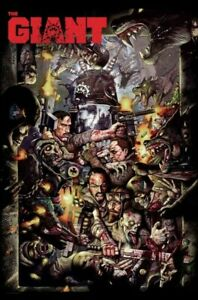 """Call of Duty Black Ops 3 Simon Bisley """"The Giant"""" Zombie Limited Edition Poster"""