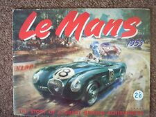 LE MANS 1953,THE STORY OF A GREAT BRITISH ACHIEVEMENT BY D.J.SCANNELL