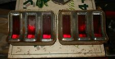 1967 1968 Ford Mustang Tail Lights RH/LH