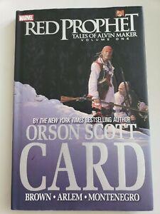 ORSON SCOTT CARD'S RED PROPHET  Tales of Alvin Maker Vol 1 HARDCOVER MARVEL NEW