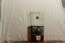 1930-40's Atlas Master Coin Operated Gumball Vending Machine Jar 5 Cents w. Key