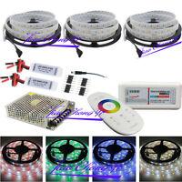 5-25M 5050 RGBW LED Strip Light IP67  +2.4G RGBW Controller +Amplifier+ power