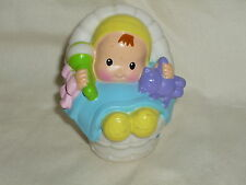 Fisher Price Little People Baby Boy or Girl Bear & Toy