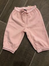 Toddler Pink Winter Pants Baby Girl infant  12 -18 Months cozy