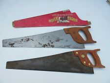 2 Vintage old Spear & Jackson saws. Workhorse B99