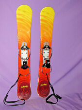 Summit Skiboards short skis 87cm snowblades ski boards w/ adjustable bindings ~~