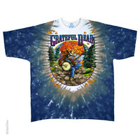New GRATEFUL DEAD Banjo Tie Dye T Shirt