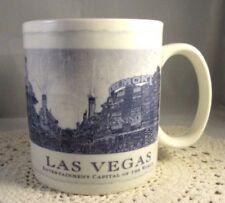 Starbucks 2006 Las Vegas Coffee Mug Entertainment Capital Of The World City Mint