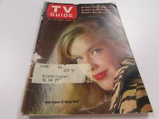 VINTAGE TV GUIDE -  10/9/65 - ANNE FRANCIS OF HONEY WEST   - COVER - VERY GOOD