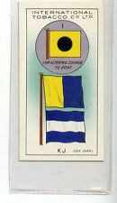(Jd8893) INTERNATIONAL TOBACCO,INT CODE OF SIGNALS,I-K J,1934,#20