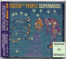 Foster the People: Supermodel (2014) CD OBI TAIWAN SEALED