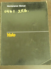 Yale Service Maintenance Manual Lift Truck Forklift Models ERC 040-065 RF/ZF
