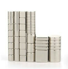 Assorted Mixed Sizes Strong Magnets Disc Cube Block Rod Cylinder Ring For Crafts