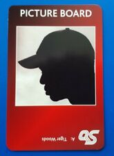 TIGER WOODS Golf Card - A Question of Sport 2007 -  GREAT condition