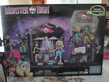 mega bloks monster high graveyard garden party nib