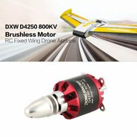 DXW D4250 800KV 3-7S Outrunner Brushless Motor for RC Fixed Wing Airplane Y