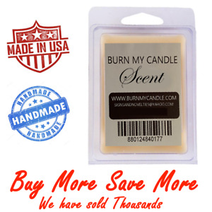 WAX MELTS TARTS Hand poured HEAVILY SCENTED Buy More Save More BURN MY CANDLE