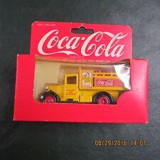 Coca Cola England Vintage NEW Die-cast Metal Truck Toy Coke 1979 Lledo Yellow
