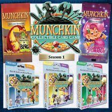 Munchkin CCG Season 1 Starter Deck Set -- 3 Sealed Decks - New