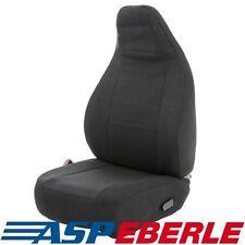 Vauxhall Zafira Tourer-Resistente Negro Resistente Al Agua Fundas De Asiento De Coche 2 frentes