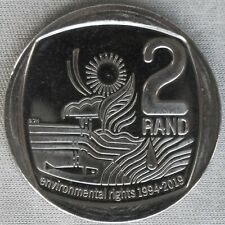 *NEW*SÜDAFRIKA / SOUTH AFRICA_2 Rand 2019_25 Years Environmental Rights_unc_lose