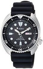 SEIKO PROSPEX Watch Mechanical DIVER SCUBA Black Dial Silicon Band SBDY 015 Men