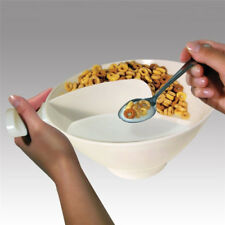 Cereal Bowl With Divider Big Portable Travel Slide No Soggy Dry Milk Obol Nice