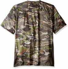 Under Armour UA Scent Control Tech T-Shirt YLG UA Forest Camo Youth Size Large