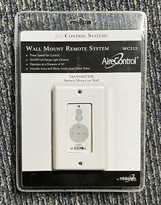 MinkaAire WC213 Wall Mount 256 Bit AireControl 3-Speed Ceiling Fan Control
