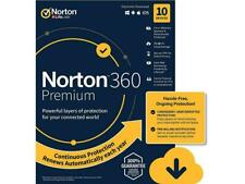 Norton 360 Premium | 10 Devices | 12 Months | Retail Key Card