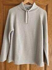 Monari Oyster Sparkly Ribbed Sweater Size 16