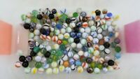 Lot of 176 Mixed Marbles Vintage in Good Condition 2lb Unchecked Lot 2